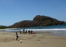 Playing on the beach - Playa Gigante