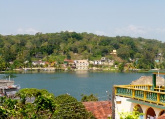 Isla Flores on Lago Peten Itza'