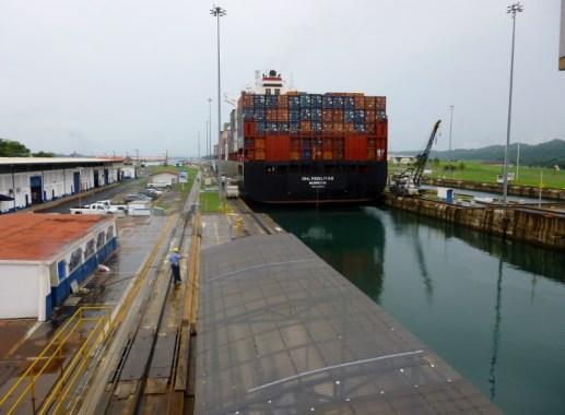 Panama Canal Miraflores Locks