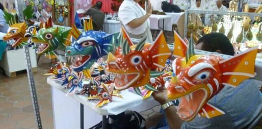 festival masks - Panama
