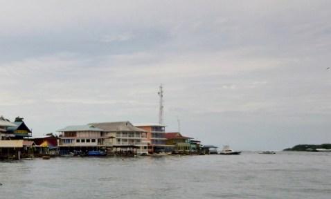 Bocas Town waterfront