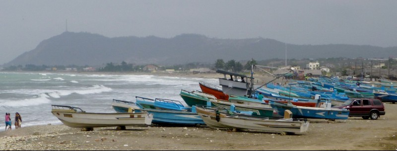Machililla beach - Manta