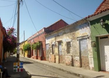street in Barrio Getsemani, Cartagena