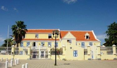 old government house in Otra Banda, Willemstad