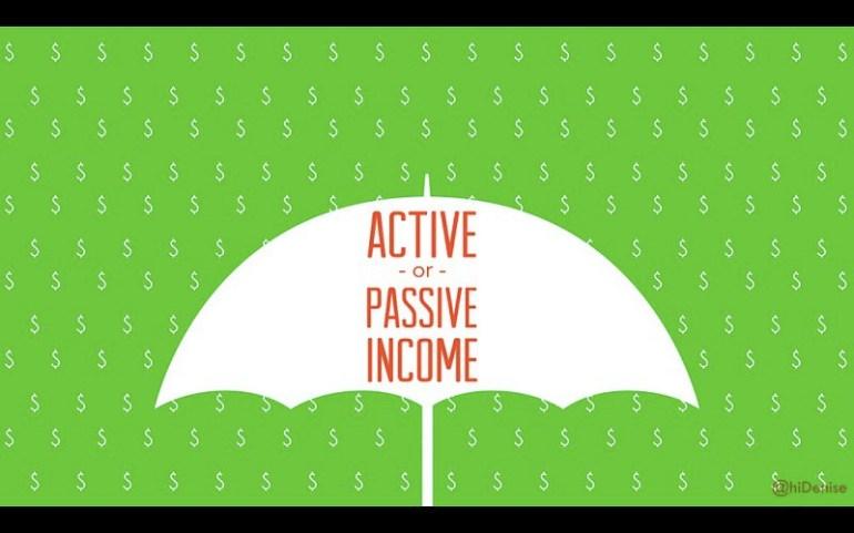active or passive income