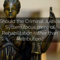 Retribution v Rehabilitation