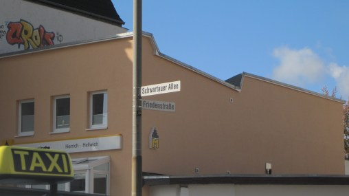 I have dozens of photos of signs that say Schwartau :)