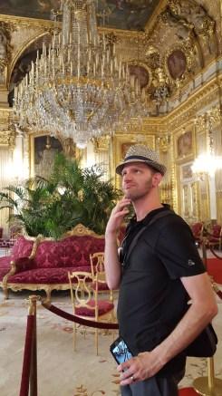 Wishing he was fancy like Napoleon