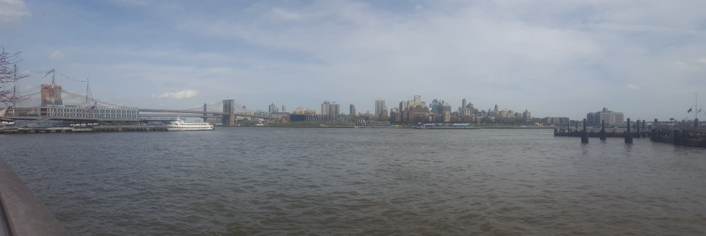 View of Brooklyn from Seaport