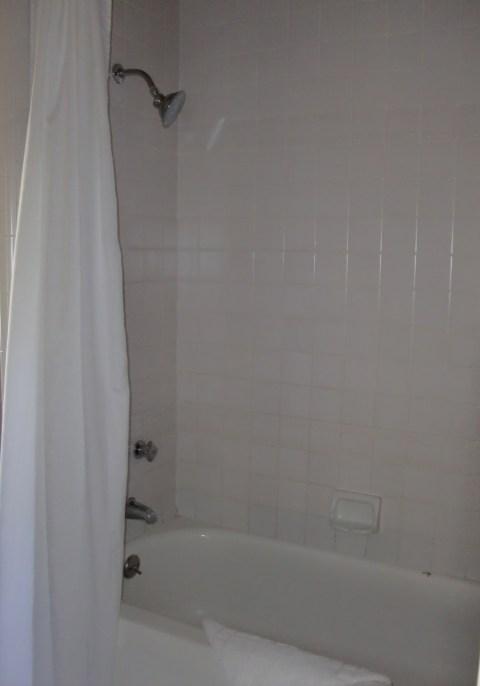 Wrong kind of shower.