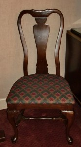 That 70s country club chair.