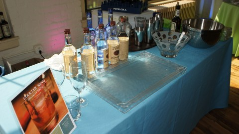 Mixology by Sage (until recently from drink) at the Boston office launch party.
