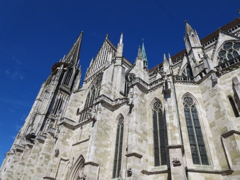 Regensburg's gothic cathedral.