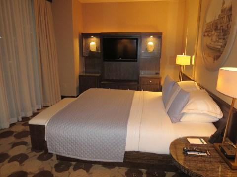 Sleeping room.