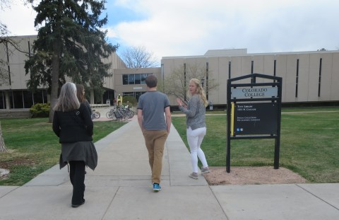 The massive Colorado College tour (two)
