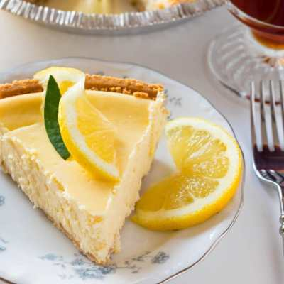 Easy Luscious Lemon Cheesecake