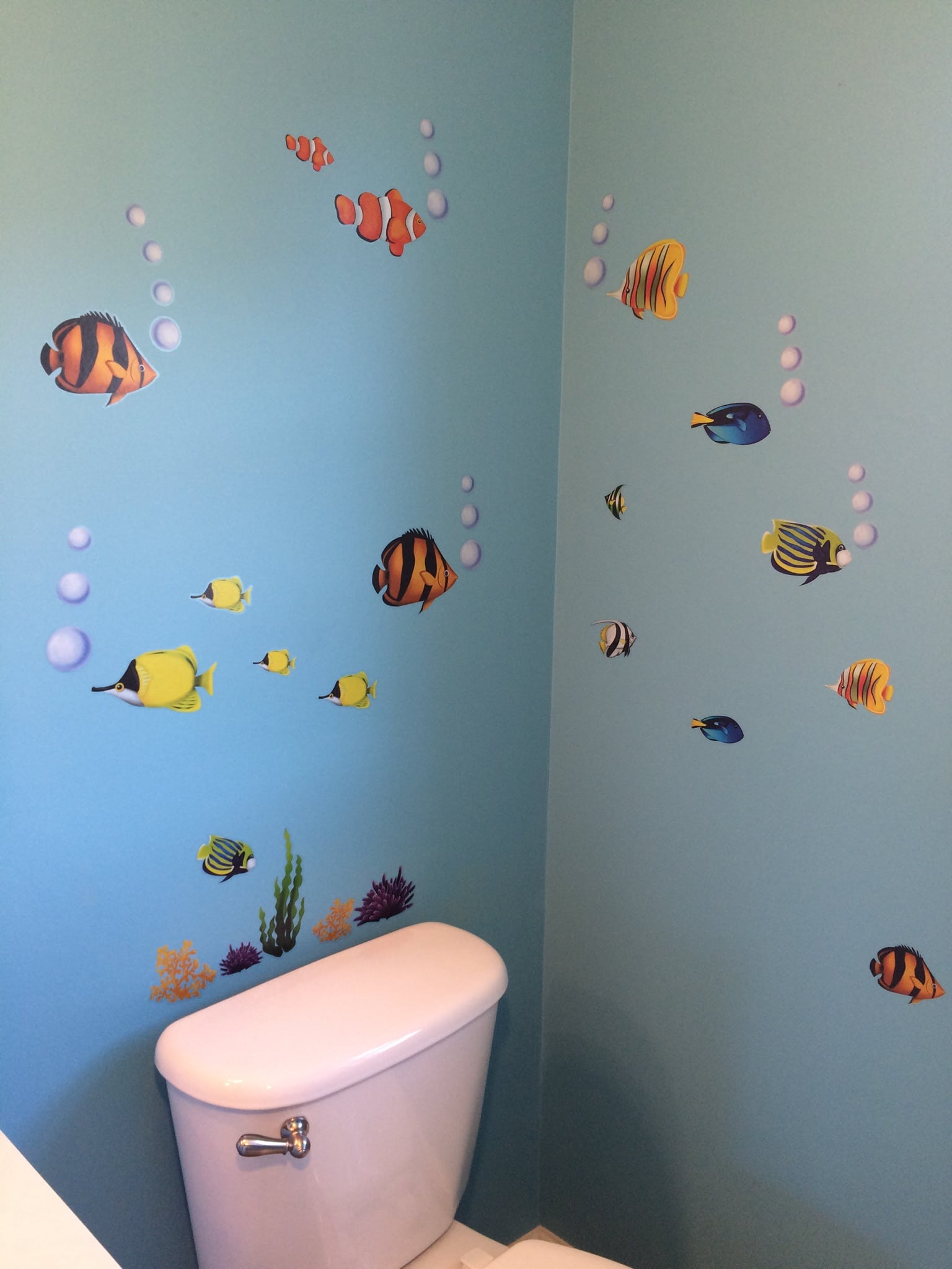DIY Disney Finding Dory Bathroom