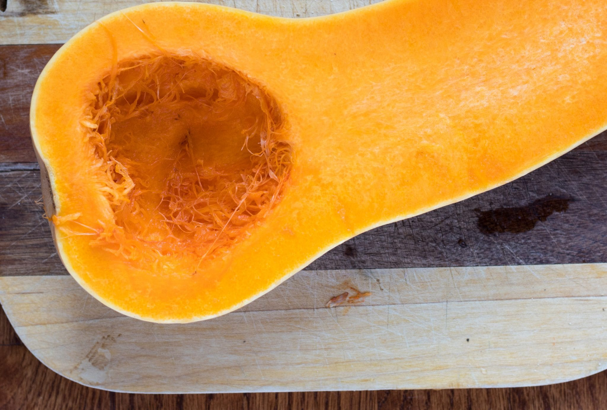 Easy Roasted Butternut Squash Soup with Rosemary and Ginger