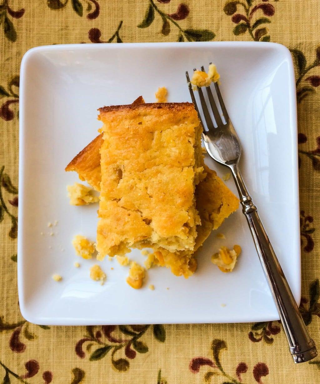 Delicious Moist Corn Spoonbread