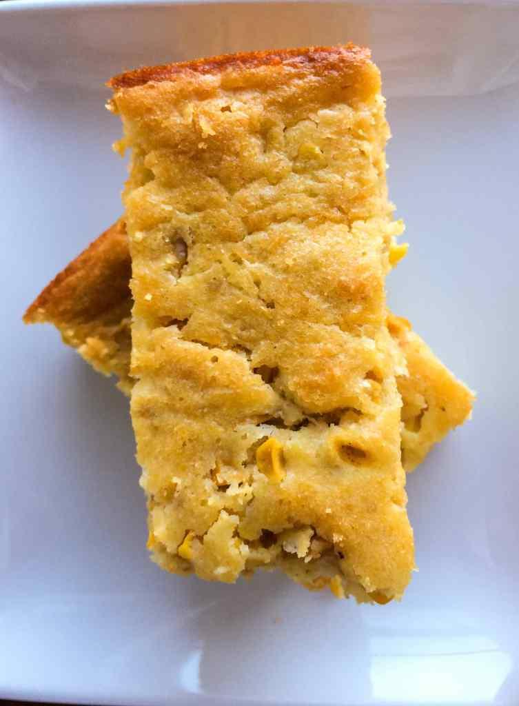 Moist and sweet Easy Corn Spoonbread