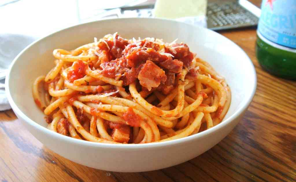 Amatriciana sauce recipe authentic