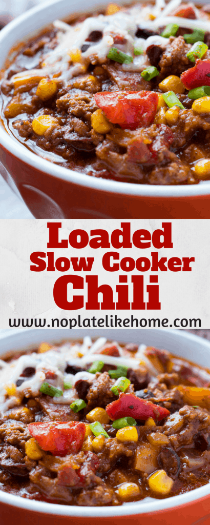 Easy Loaded Easy Slow Cooker Santa Fe Chili