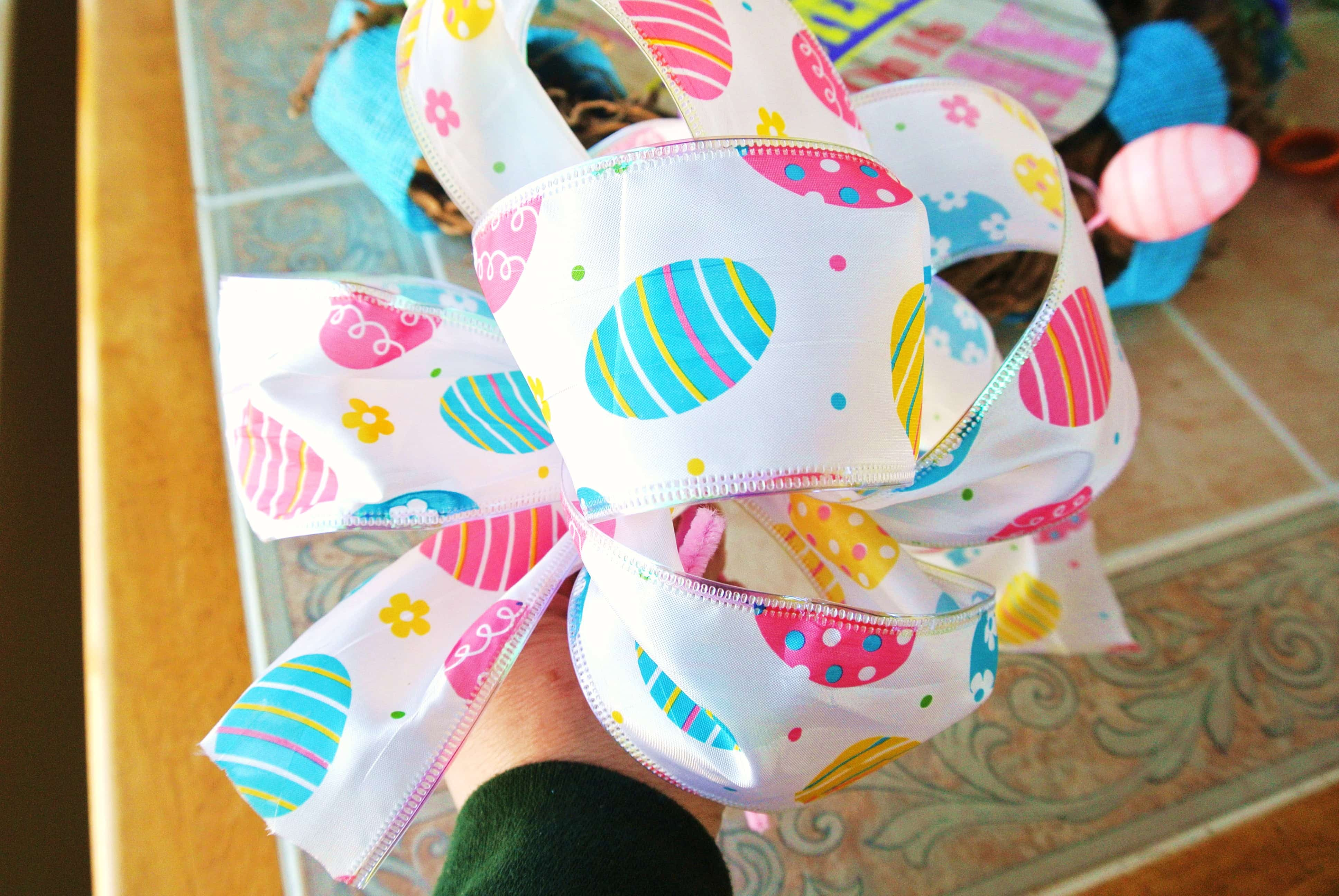 Easter bow. See You Tube video