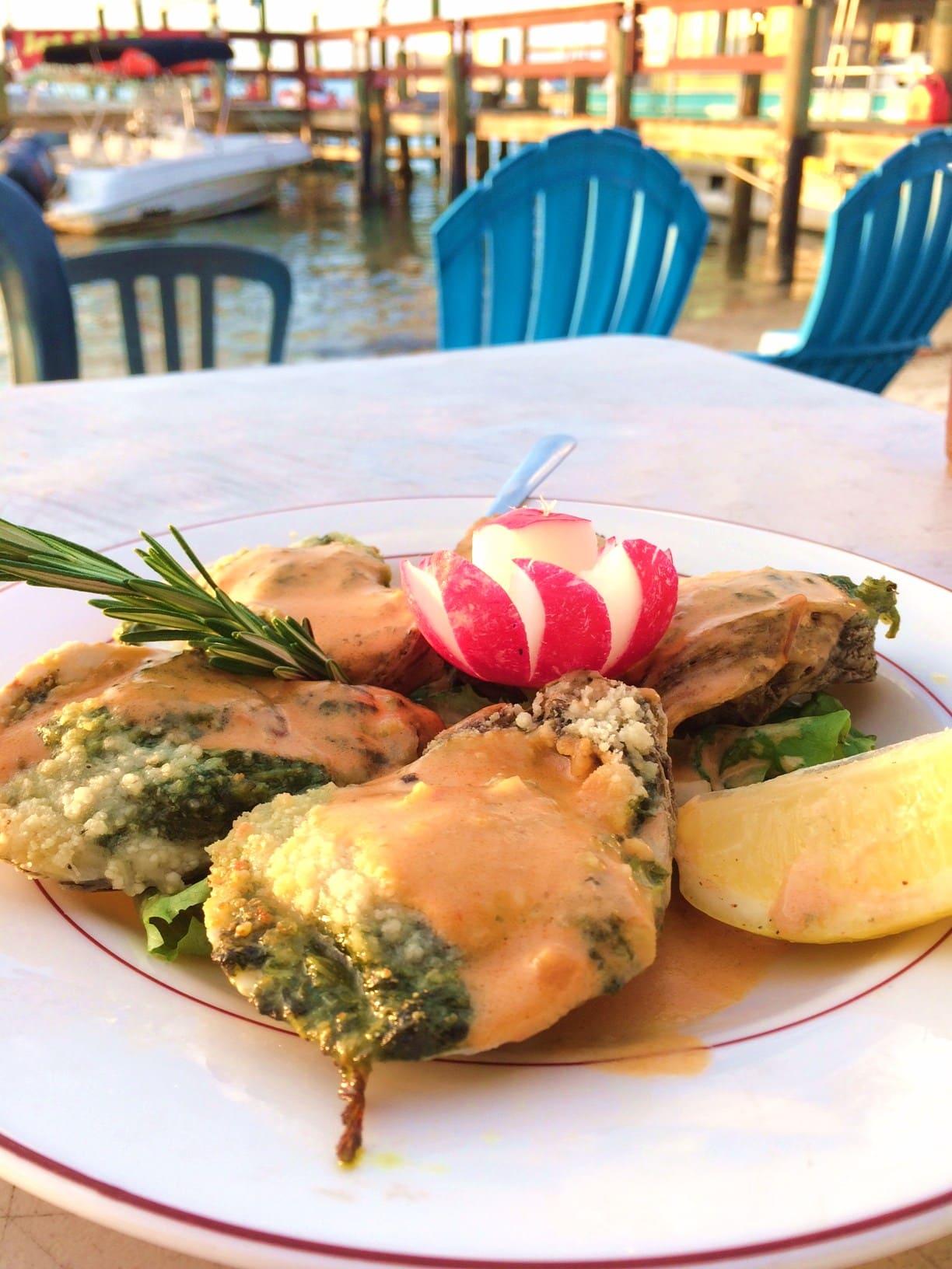 Capri Fish House Oysters Rockefeller
