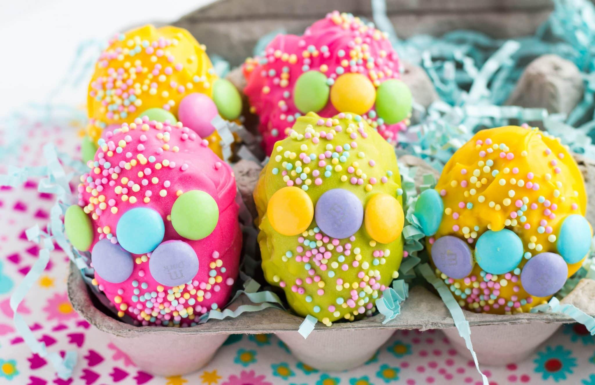 Rice Krispies Eggs with Cadbury Egg Surprise