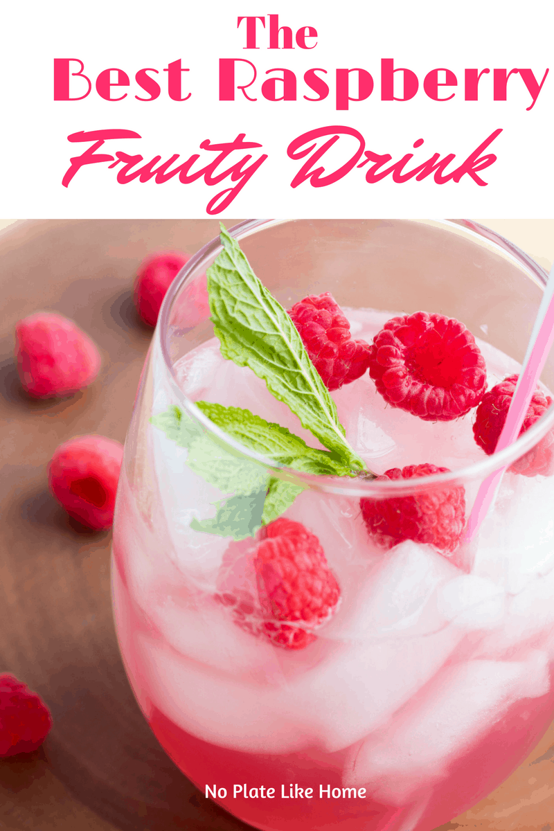 Best Raspberry Fruity Drink Cocktail