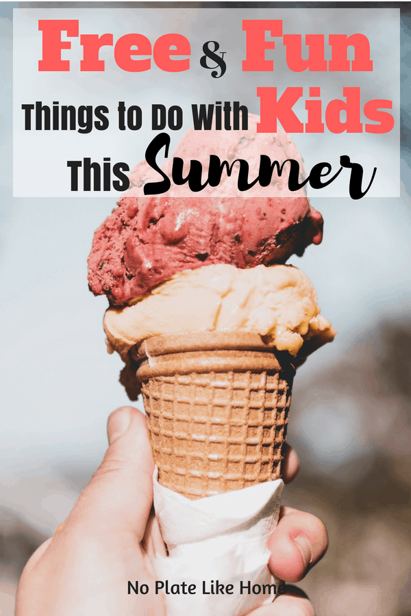 Free & Fun Things to Do With Kids This Summer