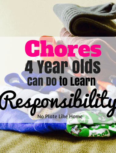 Chores 4 Year Olds Can Do