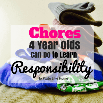 18 Chores 4 Year Olds Can Do to Learn Responsibility