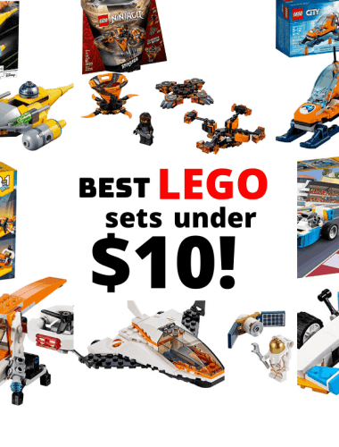 Best LEGO sets Under $10