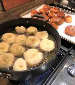 Fastnacht recipe frying donuts