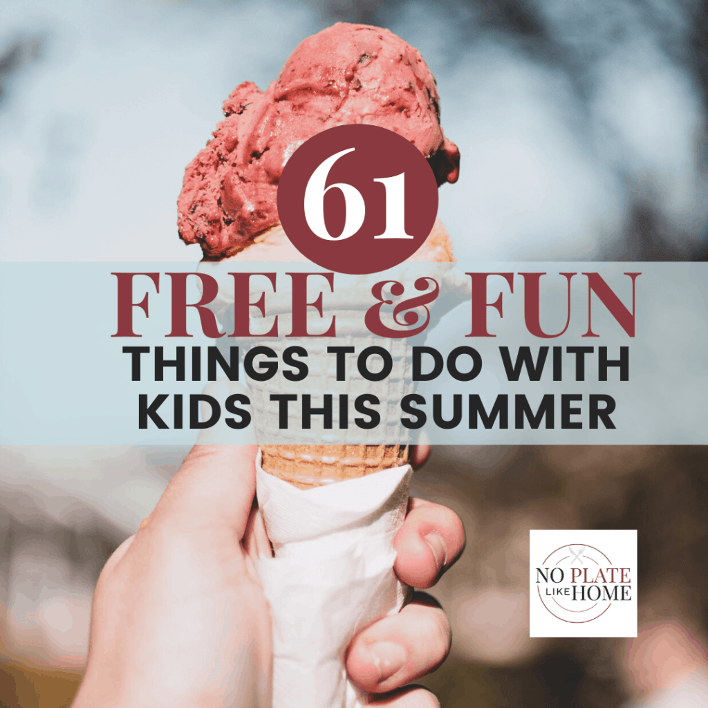 Free & Fun Things to do with Kids in Summer