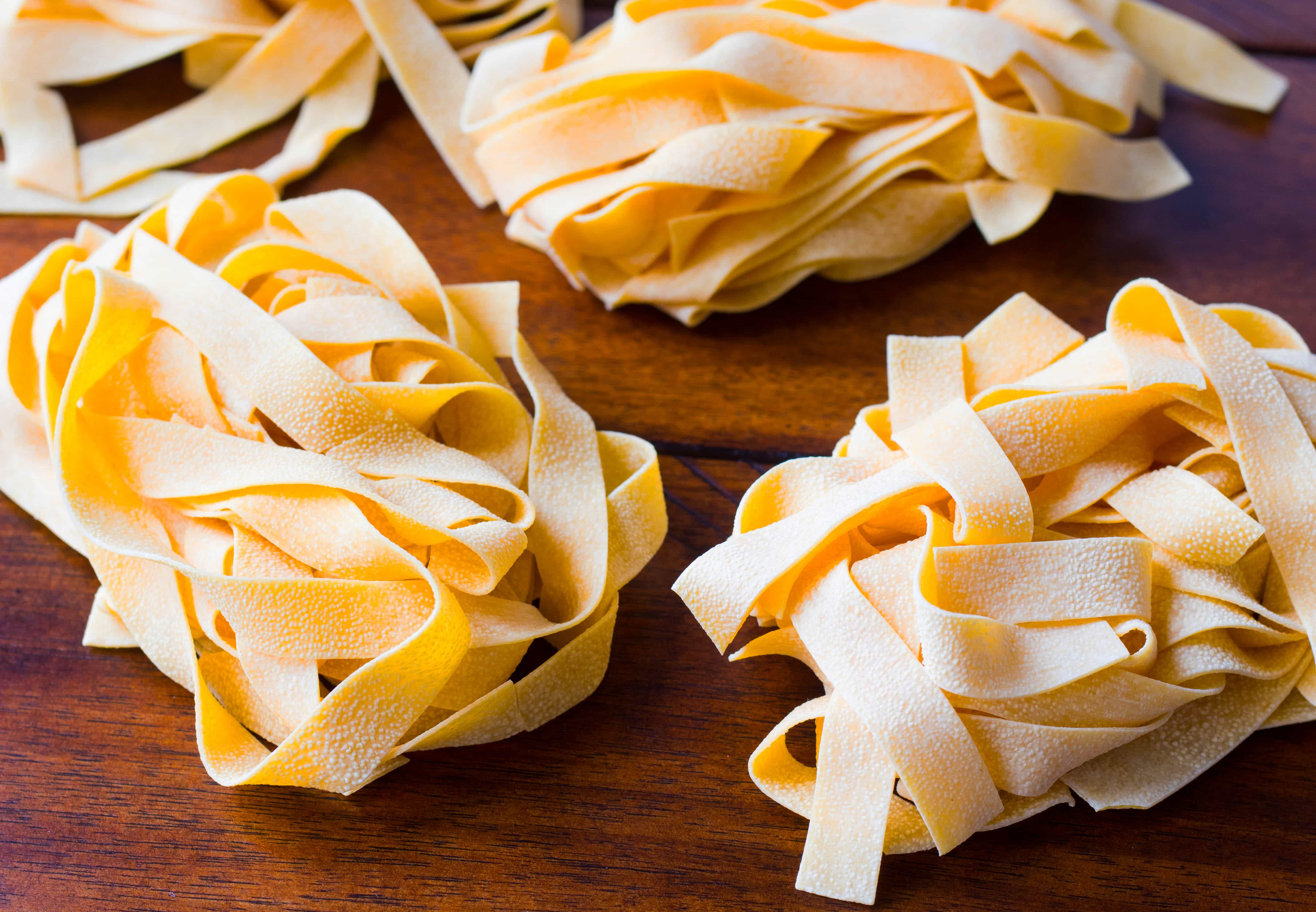 Pappardelle pasta
