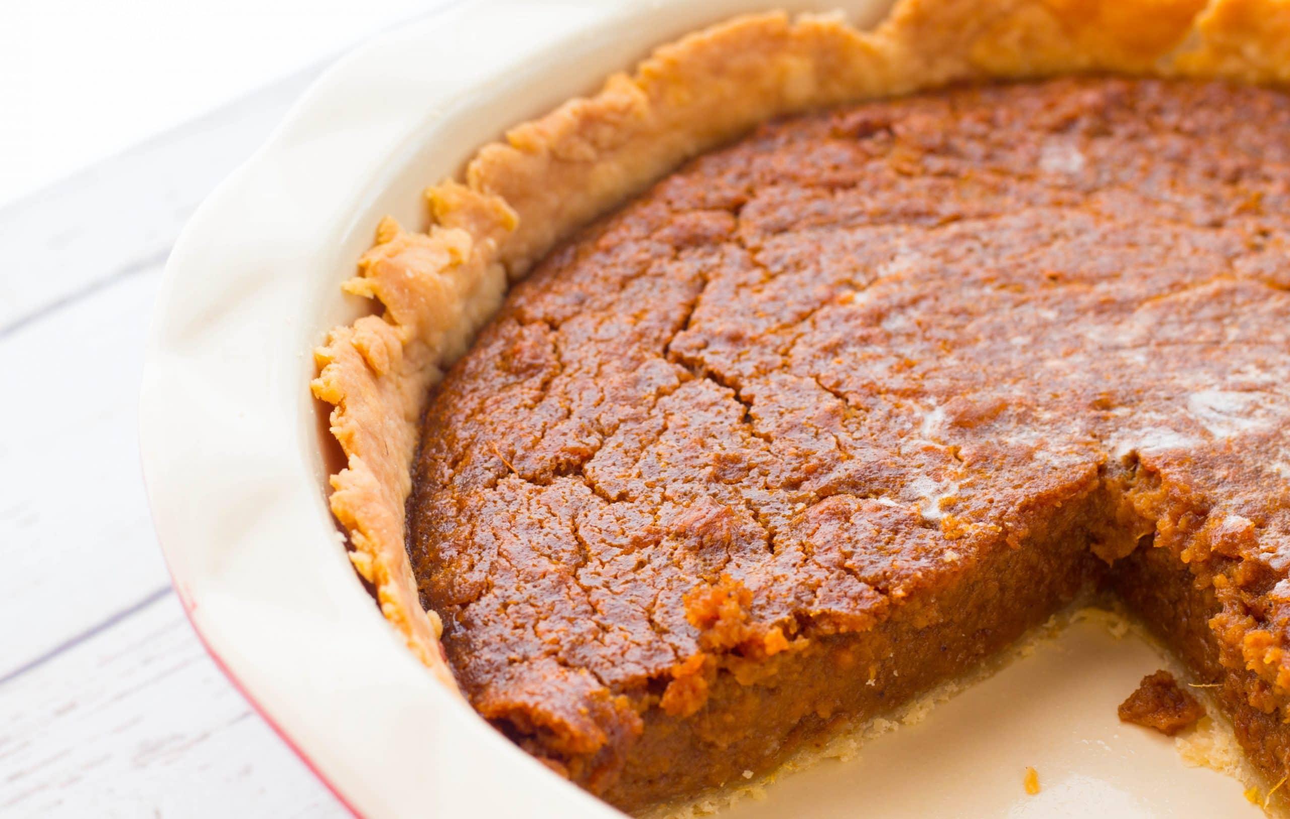 recipe for sweet potato pie from scratch