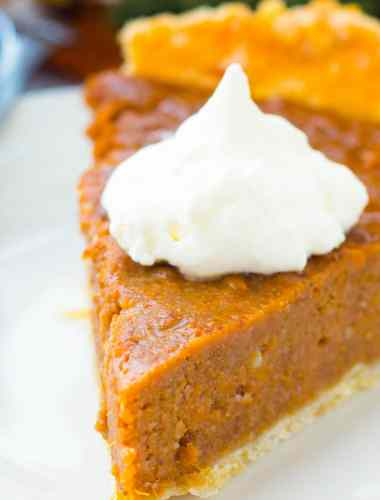 recipe for sweet potato pie recipe