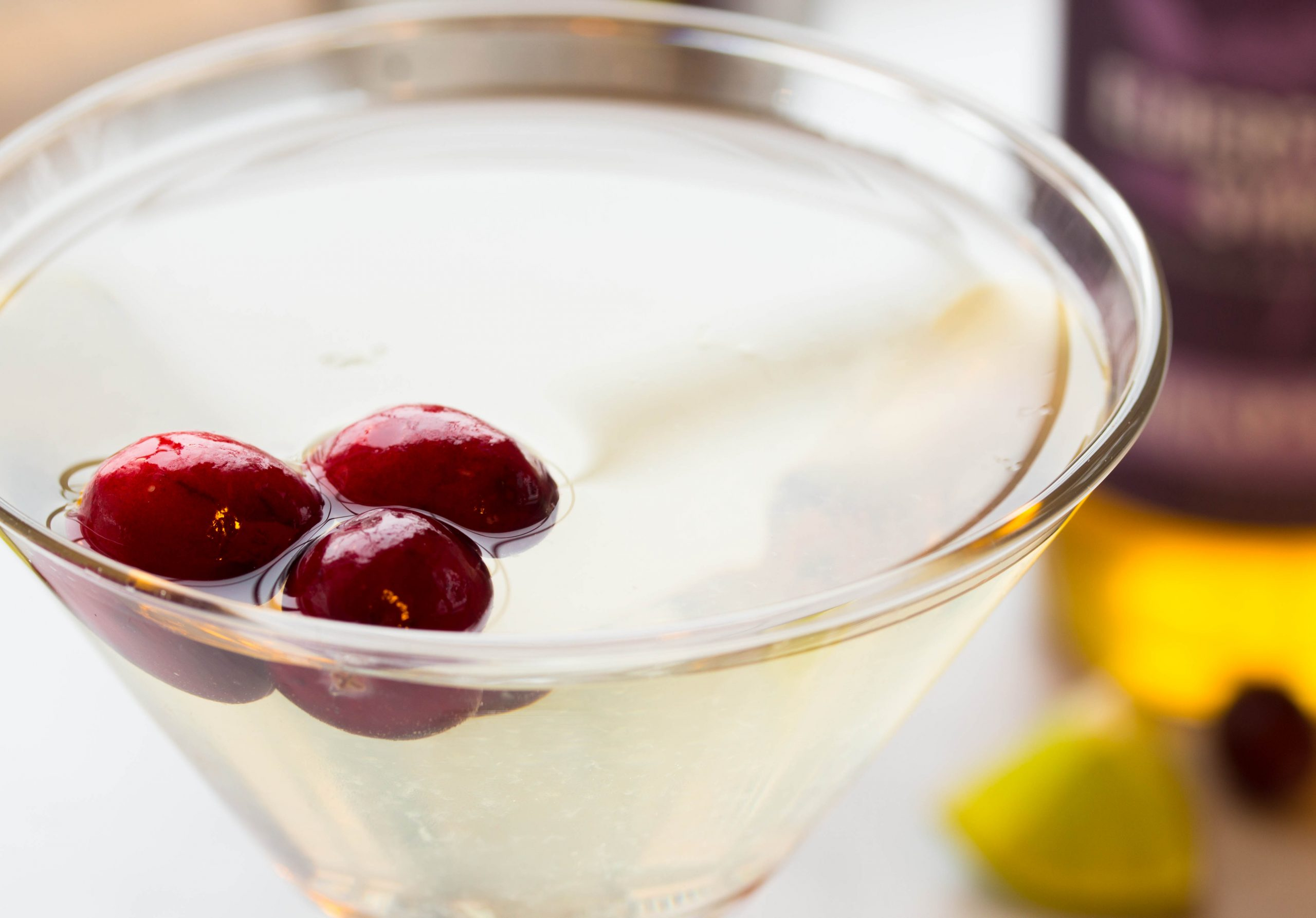 Winter White Cosmo Bonefish Recipe Elderflower No Plate