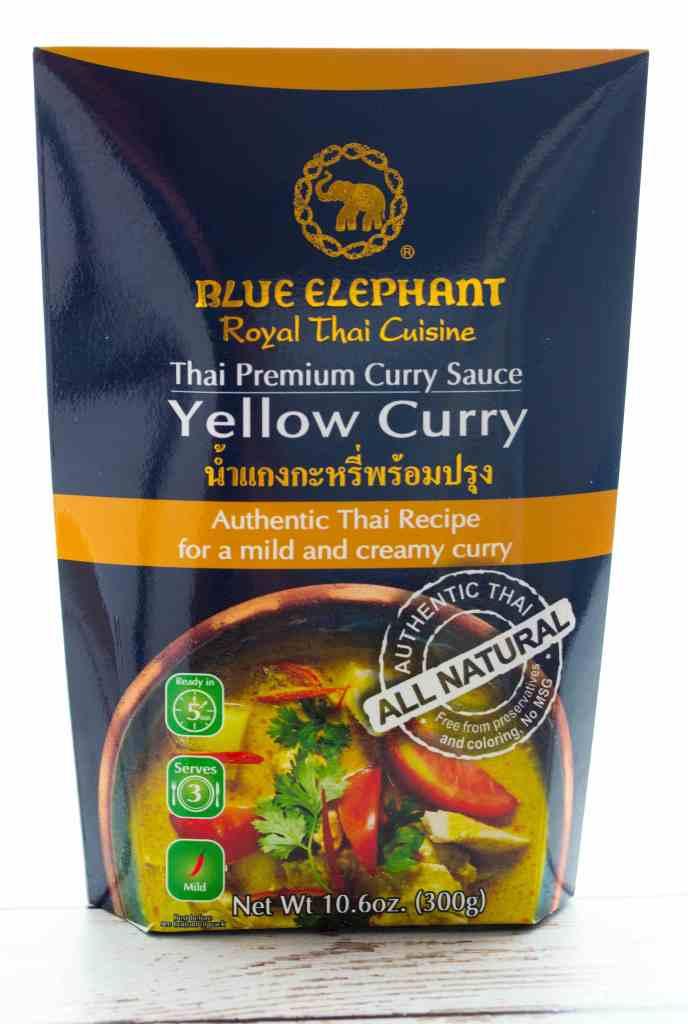 Blue Elephant Yellow Curry Sauce