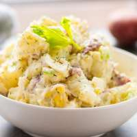 Best Creamy Dill Red Skin Potato Salad