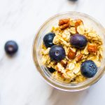 Blueberry Pecan Quaker Overnight Oats