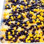 Black Bean Layered Taco Dip