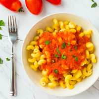 Italian Tomato Sauce with Fresh Tomatoes