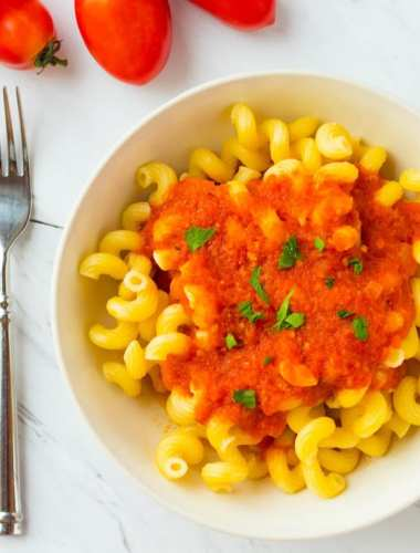 Tomato Sauce with Fresh Tomatoes
