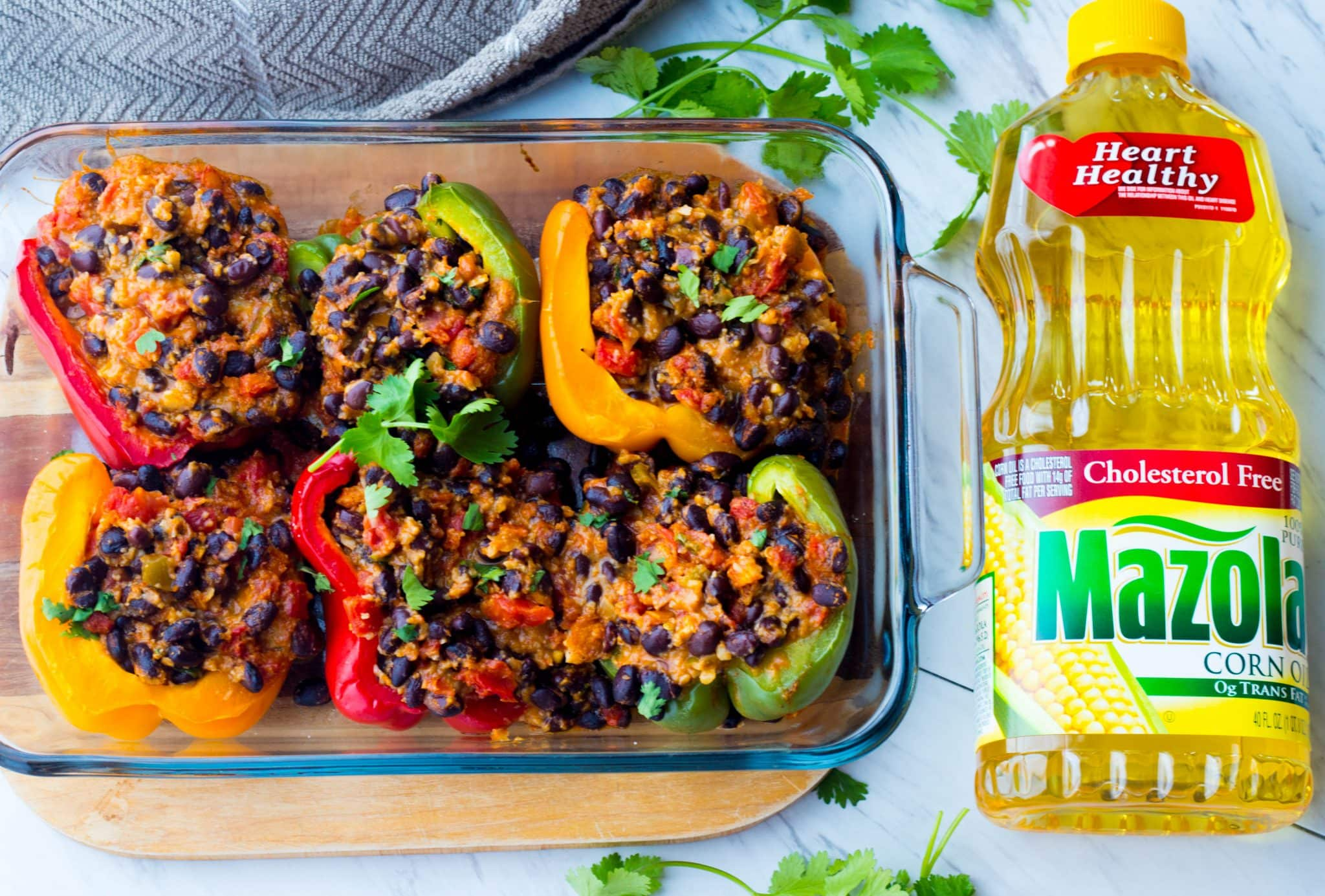 Black Bean Mexican Stuffed Peppers