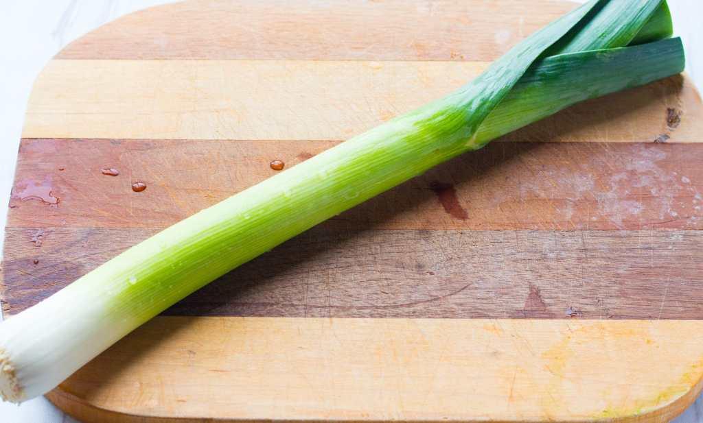 leek vegetable