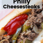 Philly Cheesesteak recipe Crockpot
