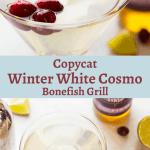 Winter white cosmo bonefish recipe elderflower